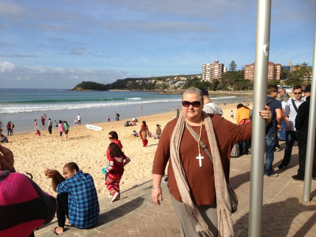 Two weeks after finishing chemo we went to Sydney