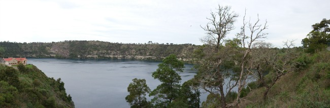 Mt Gambier blue lake