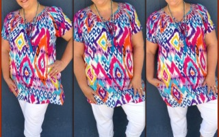 WEARING PRINTS FOR CURVY GIRLS…