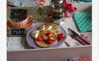 STYLING A BREAKFAST TRAY PART ONE.