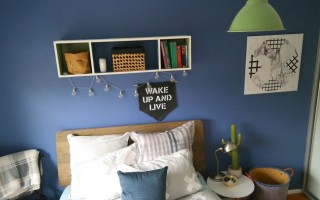 DECORATE A TEENS BEDROOM ON A BUDGET.