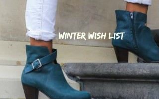 MY WINTER WISHLIST