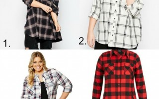 WOMENS WINTER PLAID SHIRTS
