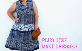 10 PLUS PLUS SIZE MAXI DRESSES FOR SUMMER