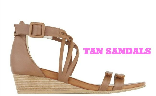 MY TOP TAN SANDAL PICKS