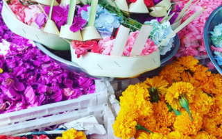 BALI MARKET BLOOMS IN FULL COLOUR