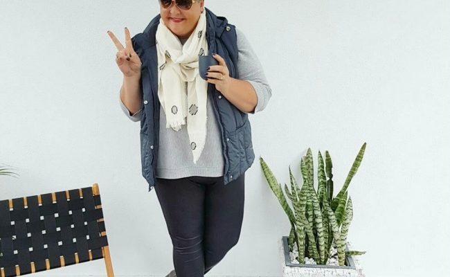 HOW TO LOOK COOL IN A PUFFER VEST