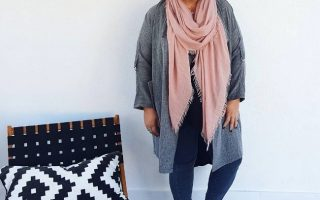 CREATING AN EASY LAYERED WINTER OUTFIT