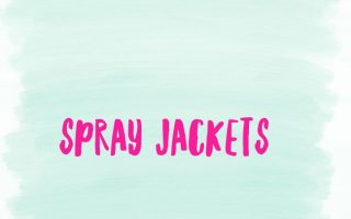 STYLISH SPRAY JACKETS I LOVE and where to find them
