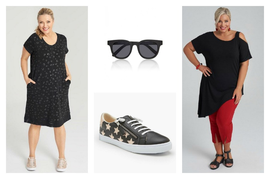 Black Plus Size Clothing Australia