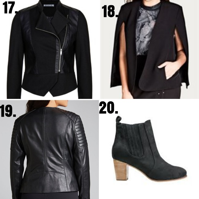 how to wear black clothes - styling curvy