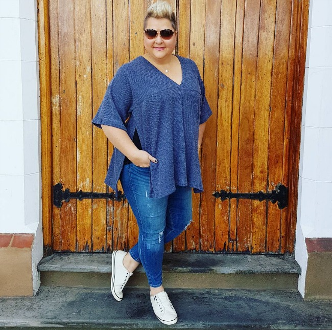 casual weekend wear - styling curvy