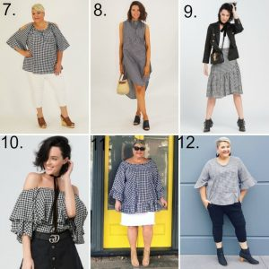 gingham fashion in larger sizes