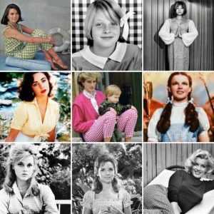 famous stars wearing gingham