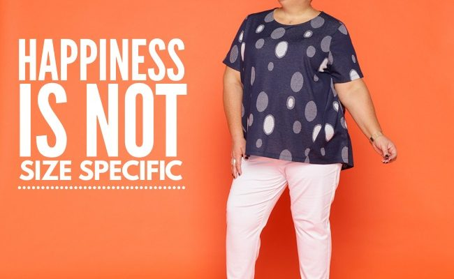 happiness is not size specific styling curvy