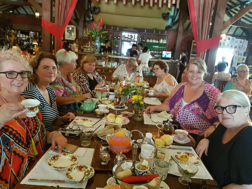 high tea Bali tour