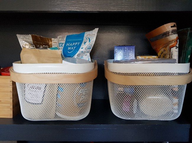 PANTRY BASKETS FROM IKEA