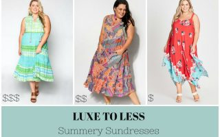 SUMMERY SUNDRESS Luxe to Less