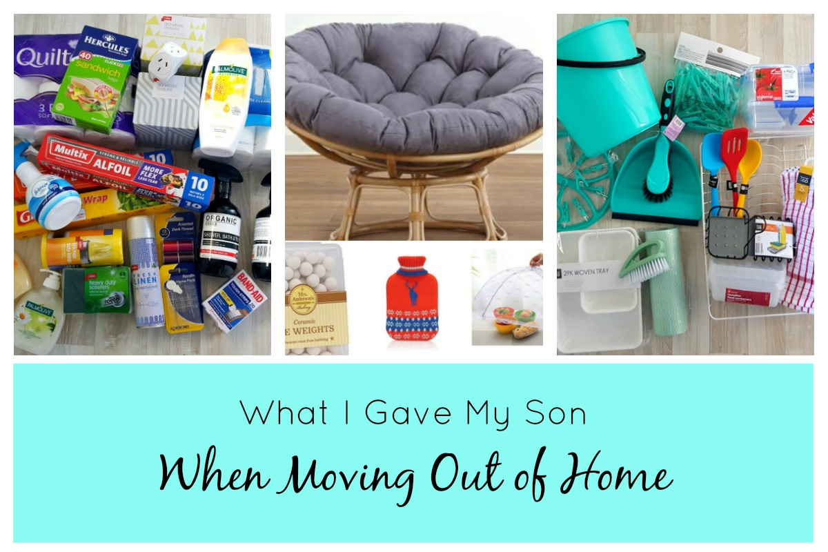 What You Need When you move out of home