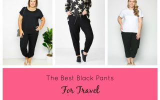 THE BEST BLACK PANTS FOR TRAVEL