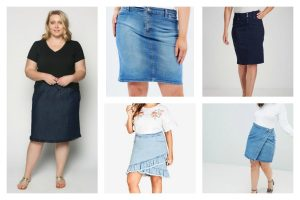 Adrift denim Skirt