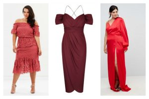 Red Ball Dress Plus Size