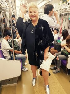 dressed up on subway by styling curvy