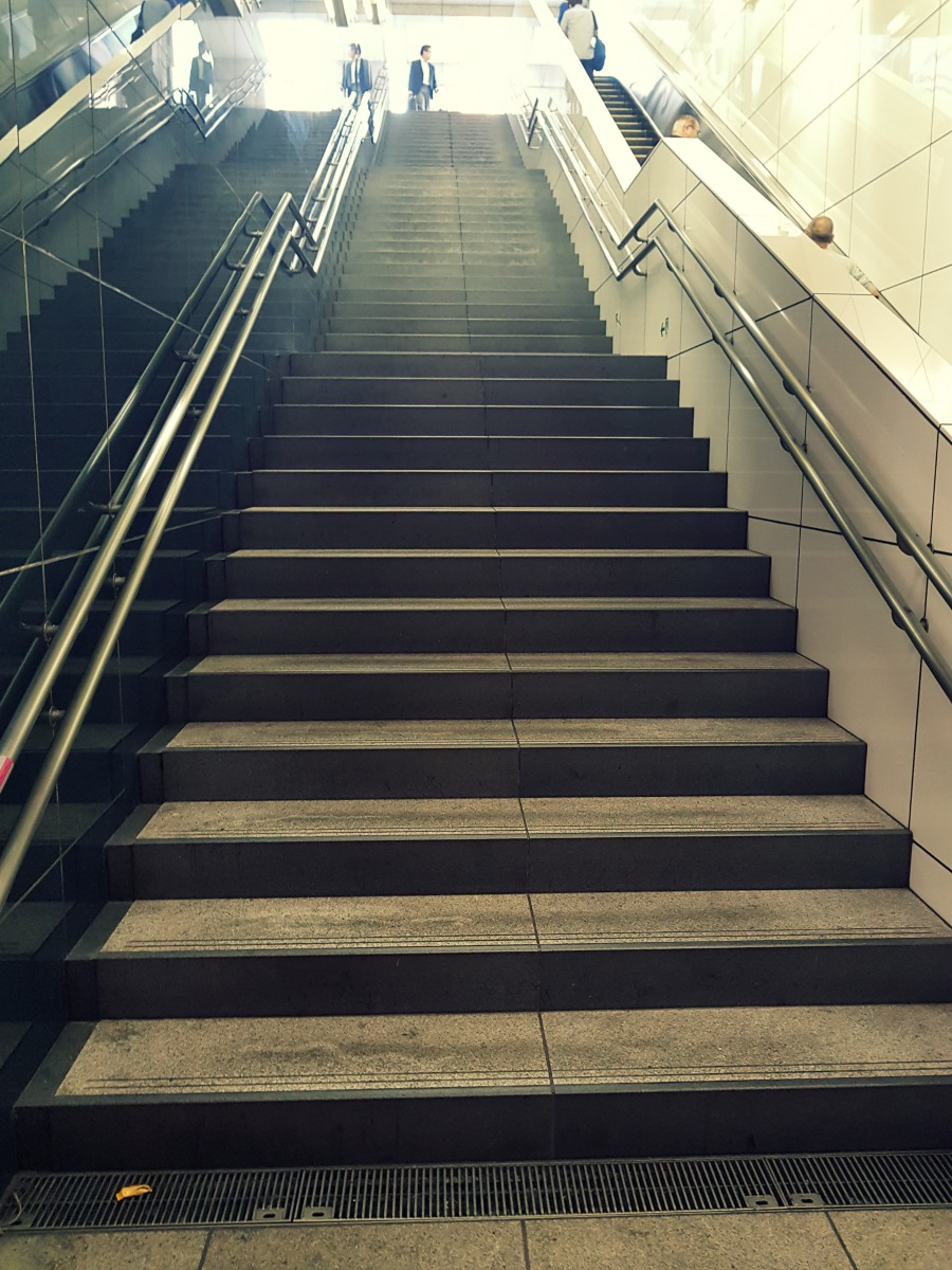 subway stairs japanby styling curvy