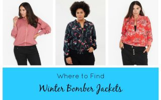 WHERE TO FIND WINTER BOMBER JACKETS
