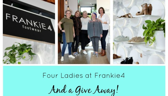 FOUR LADIES AT FRANKIE4…and a giveaway