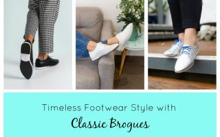 Timeless Footwear Style with Classic Brogues