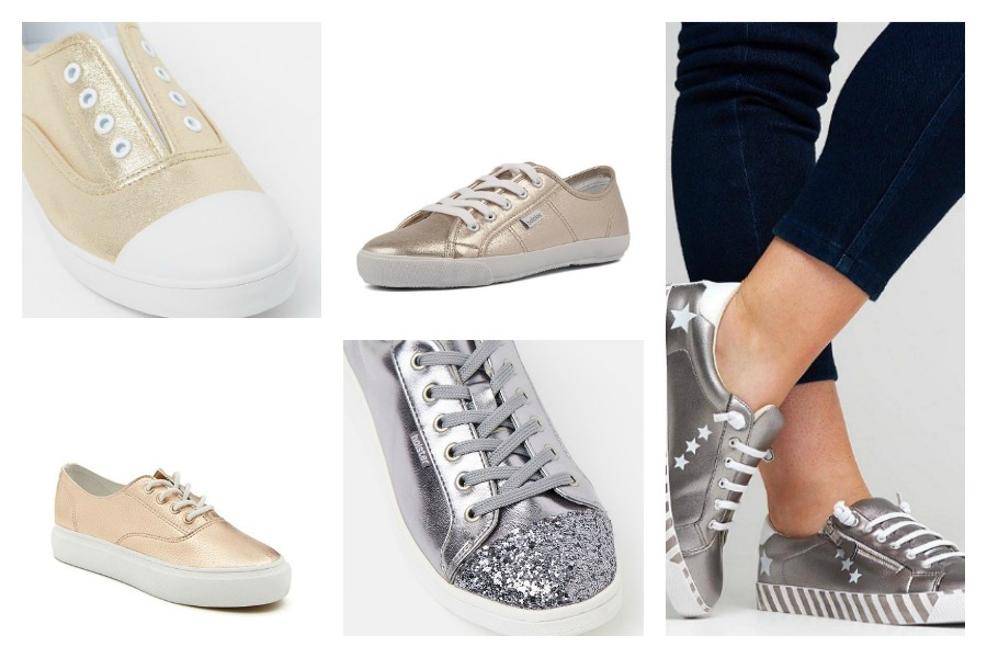 Metallic Sneakers under $100
