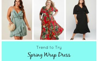 TREND TO TRY…THE SPRING WRAP DRESS