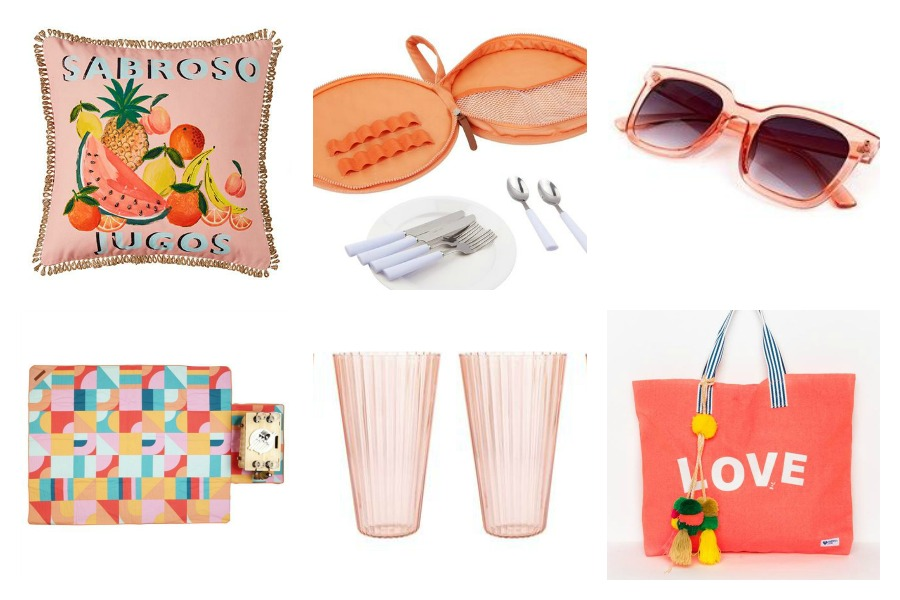 Pink Picnic Accessories