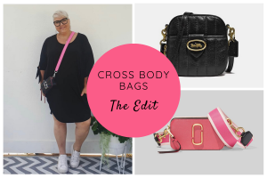 How to Wear Cross Body Bags by Styling Curvy