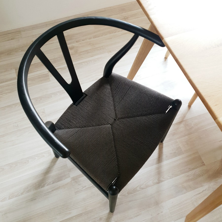 Matt Blatt black dining chairs